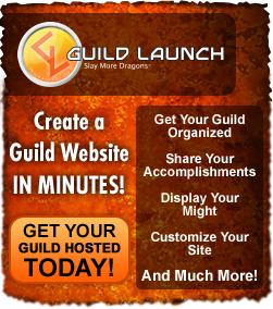 Guildlaunch - create a guild website in minutes!