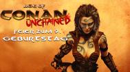 Feiern zum 9. Geburtstag von Age of Conan