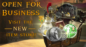 The NEW Item Store: Open for Business!