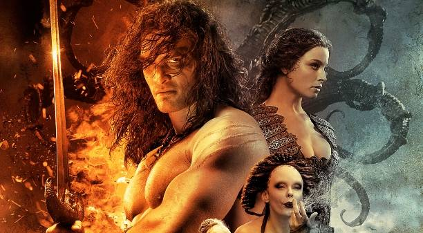 First Bloody Scene Revealed for Conan The Barbarian!