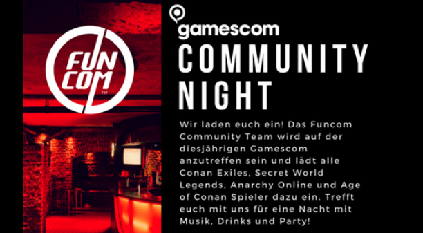 gamescom COMMUNITY NIGHT