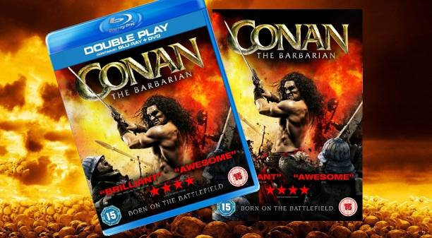 Conan Movie available on Bluray and DVD in the UK
