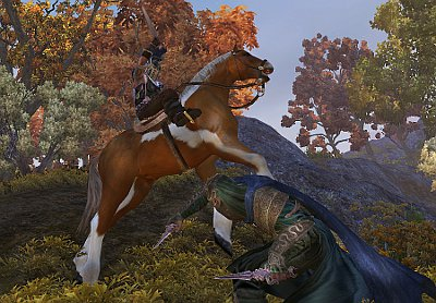 Mounted PvP