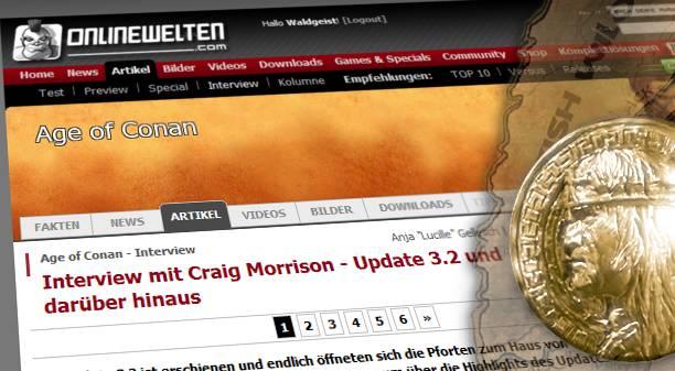 Onlinewelten Interview mit Craig Morrison