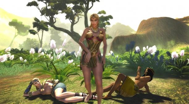 age of conan naked girl № 180517