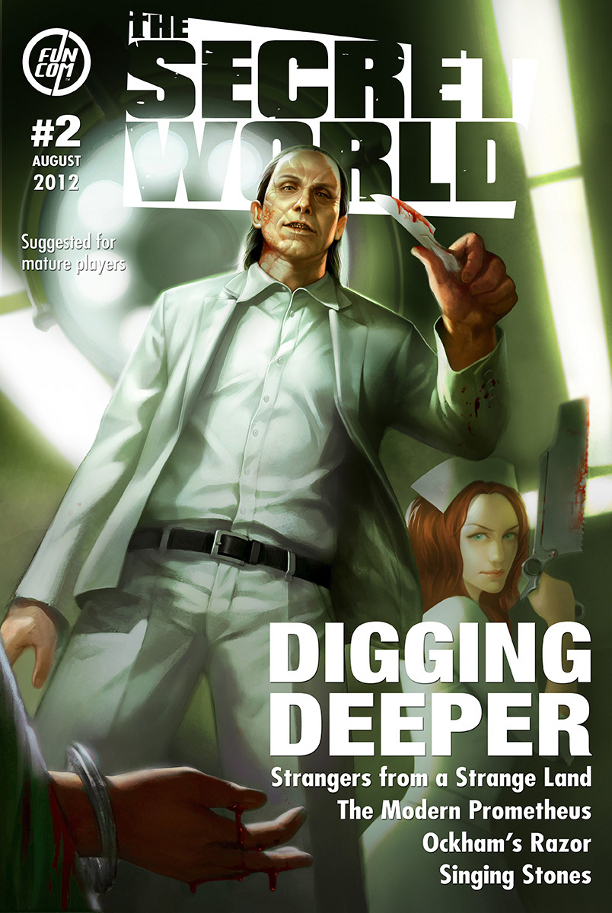 The Secret World Issue #2