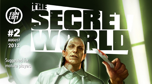 The Secret World Issue #2, August 2012: Digging Deeper