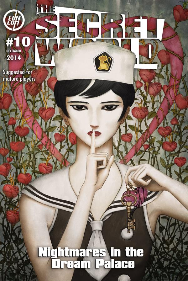 L'ÉPISODE 10 : CAUCHEMARS AU PALAIS DES RÊVES EST ARRIVÉ ! ISSUE_10_COVER_insertt